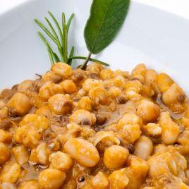 Zuppa di legumi Confezione da 0,300KG impiattato