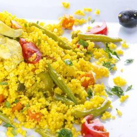 Cous Cous con Pollo e Verdure