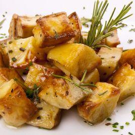 Patate al forno Confezione da 0,200KG impiattato