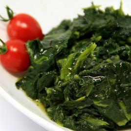 Broccoletti Ripassati Confezione da 0,200KG impiattato