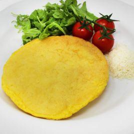 Frittata con Parmigiano Reggiano Confezione da 0,200KG impiattato